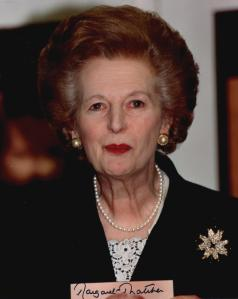 First Lord  (1st 'Lady') of the Treasury British Prime Minister and the second Minister for the Civil Service 1979-1990 (Conservative) Dame Margaret Hilda Thatcher (Roberts), Baroness Thatcher  (13th October 1925 - 8th April 2013)