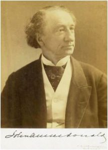 Sir John Alexander Macdonald, GCB, KCMG, PC, PC (Can), QC (11 January 1815 – 6th June 1891), was the first Prime Minister of Canada (1867–1873, 1878–1891) and one of the Fathers of the Confederation of Canada.